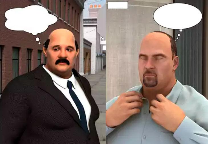 Artista recria as tirinhas d'El Ósculo Hirsuto em 3D